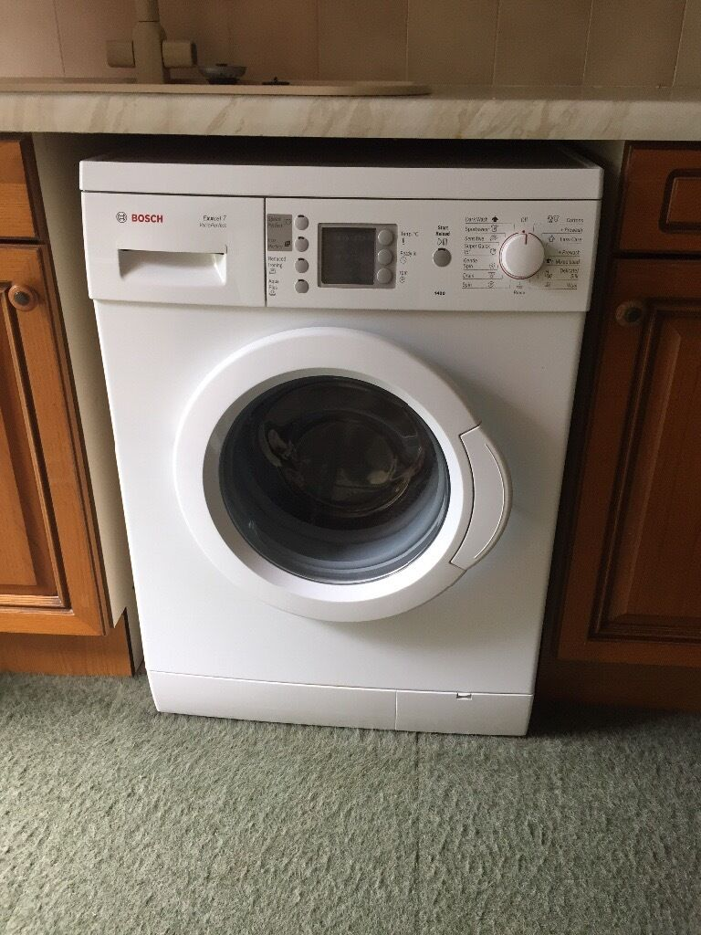 Bosch Exxcel 7 Vario Perfect Washing Machine In Norwich