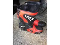 Alpinestar boots size 9