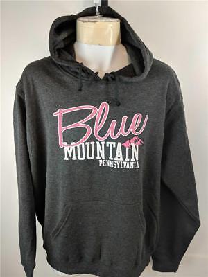 Blue Mountain Pennsylvania (Neu Blue Mountain Pa Pennsylvania Herren GRÖSSE L L Grau Kapuzenpulli)