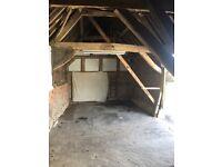 Car storage barn,