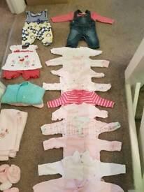 Girls Newborn bundle