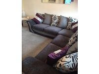 L shape corner couch immaculate sofa