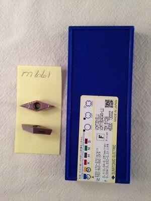 10 New Sumitomo Vcmt 331elu Cermet Inserts. Grade T3000z M661