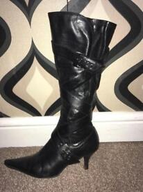 Size 5 leather boots