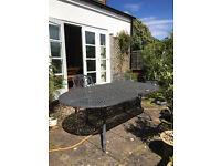 Garden Table Hartmann Amalfi 6-8 seater cast aluminium