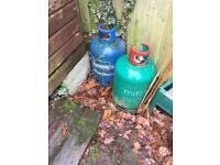 2 15 KG Calor Gas Bottles