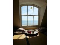 Fantastic sea veiw from 4th floor flat, Big double room in Brunswick square, inc. . minimum 3 months