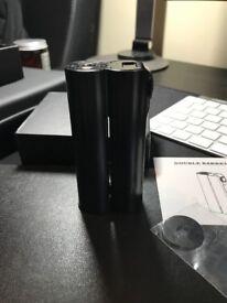 Squid Industries Double Barrel V2 150w 2x18650 Mod Black