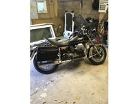 Moto guzzi California 1983, recently restored, new screen and tyres, wheels powder coated and more.