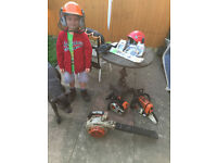 2 x chainsaws + 1 x blower + more £600 for All items