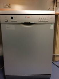 Bosch Exxcel Express dishwasher in grey