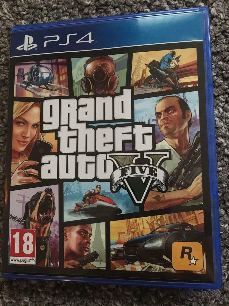 Gta V Ps4 Grand Theft Auto 5 Gta 5 Brand New In