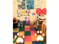 Ofsted registered childminder, available Monday to Saturday both day and night care .07985748317..