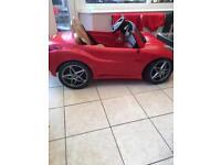 Ferrari ride on car