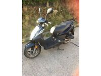 SYM SYMPLY 50cc MOPED/SCOOTER