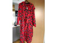 Disney/ George Minnie Mouse-NEW Dressing gown