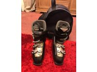 Ski boots and bag ex condition £15