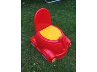 Car potty