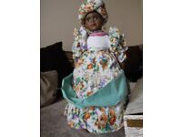17 inch Carmen alberon collection porcelain doll