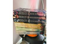 Golden compass and Percy Jackson Books
