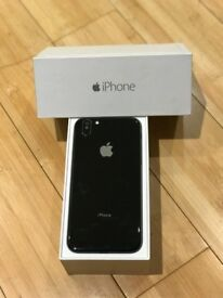 iPhone 6 64gb Unlocked In Jet Black - iPhone X Conversion