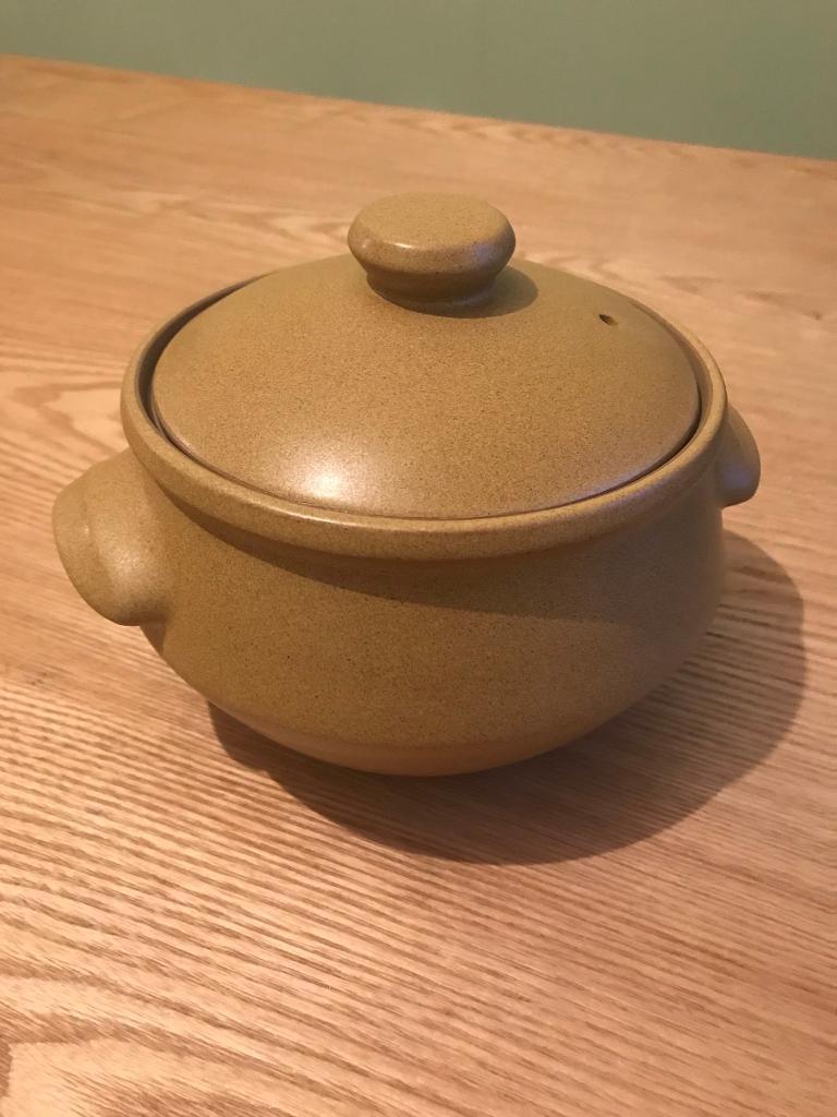 Denby ode pottery 1967 - 1977 casserole dish / serving bowl
