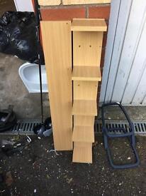 Ikea DVD/book wall shelf