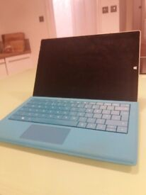 Microsoft Surface Pro 3, 12 inch screen, 128gb. Keyboard and pen included.
