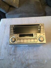 Subaru Impreza original stereo