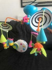 Lovely cot mobile toy from Tiny Love in great condition