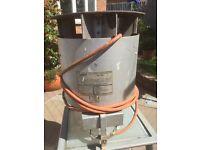 Bullfinch gas workshop heater