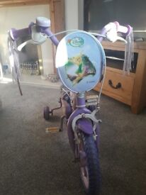 Girls bike - used