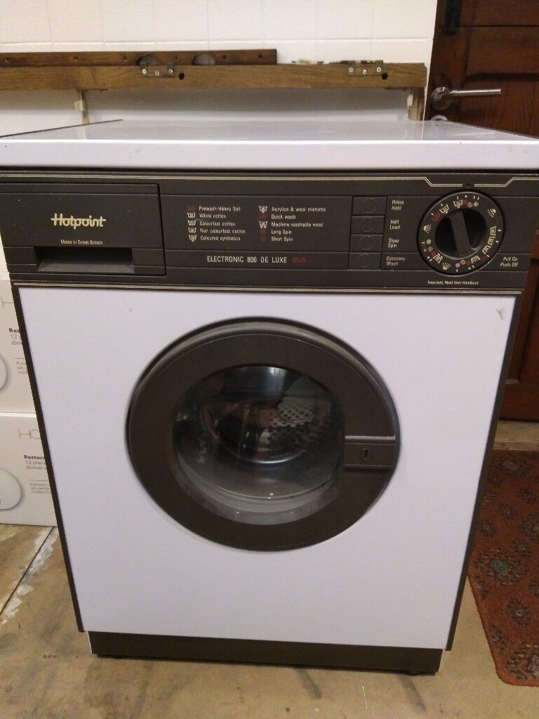 Hotpoint 800 de luxe washing machine 9525 used for parts, spares or repair
