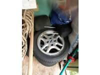 "14"" Ford alloys"