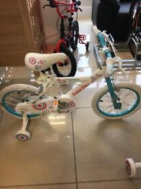 """Brand New 16"""" Harmony Girls bike"""