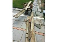 Free to collect Fire wood decking off cuts