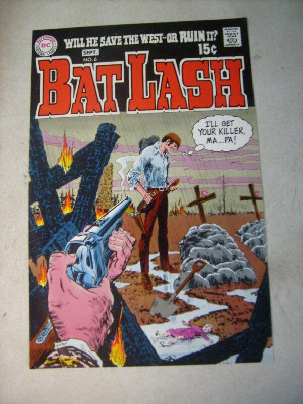 BAT LASH #6 ART original cover proof 1960