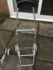 Caravan/camping trolly, lightweight, foldable, in good used condition, choice of two