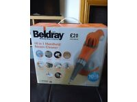 Handheld steam cleaner - Beldray, 10 in 1 multifunction with box and instructions
