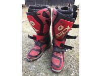 SIDI motorcross boots uk 8
