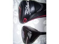 men's titliest 913 D3 9.5 Driver with headcover
