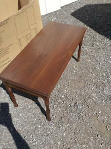 "18x18x36"" Antique PIANO BENCH Oakville  SOLID WOOD Mid-century Stool Retro MCM Vintage Excellent smoke-free mahogany"