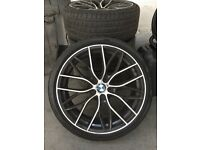 "Bmw 19"" M Performance Replica Alloys x 4 with 235/35r19 tyres"