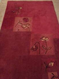 LARGE RED RUG!