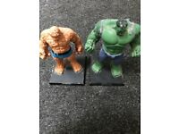 The Hulk and The Thing classic Marvel figurine