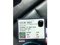 Taylor Swift tickets Saturday 23/06/18 Wembley