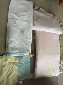 Mothercare cot bed set