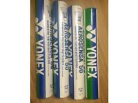 Yonex aerosensa 50 shuttle cocks pack of 12 x 4 boxes