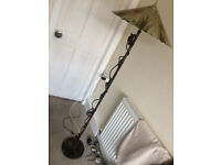 Vintage Copper Lamp Stand - WORKING