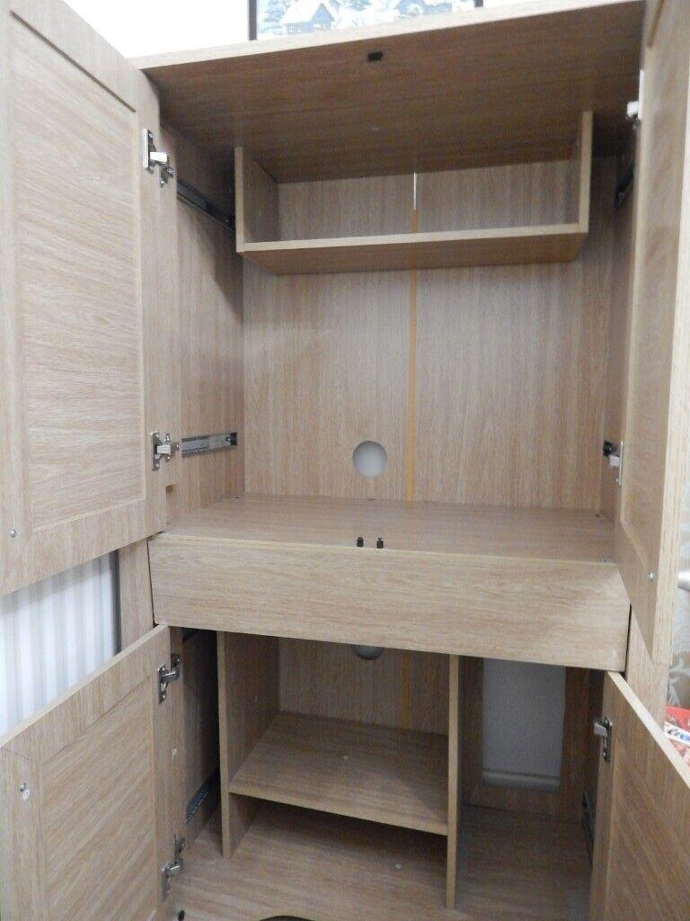 Retracting Door Pc Hideaway Cabinet In Cambridge Cambridgeshire